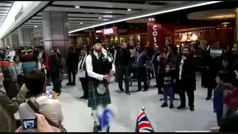 АП Хитроу, Лондон, 17.11.2018