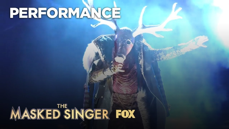 16 янв. 2019 г. The Deer Performs Get Your Shine On | Season 1 Ep. 3 | THE MASKED SINGER