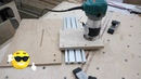 Guide rail milling machine track router part1 (making rail block)