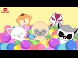 Yoohoo and Friends Юху и его друзья Детская музыка Петь и Танцевать