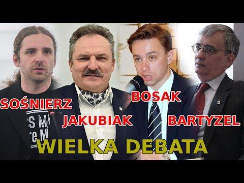 """Jakubiak, Bosak, Sośnierz, Sommer i Bartyzel Debata """"Co dalej z polską prawicą wolnościową?"""" LIVE!"""