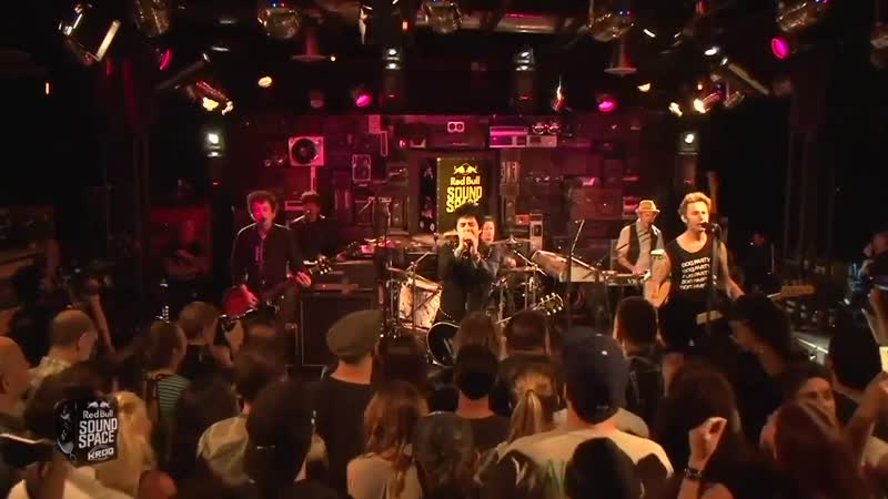 Green Day - Still Breathing Live Red Bull Sound Space KROQ