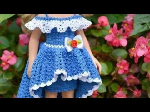كروشيه فستان اطفال شرح مفصل للمبتدئين crochet girls dress