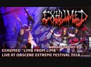 EXHUMED Limb from Limb Live at Obscene Extreme 2018