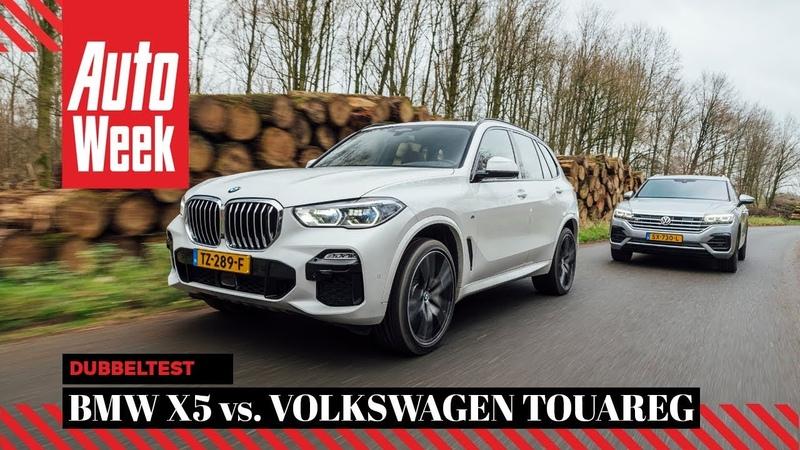 BMW X5 vs. Volkswagen Touareg - AutoWeek Dubbeltest