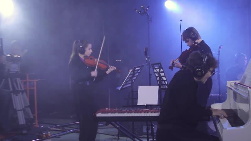 1067 (7) J. S. Bach - Orchestral Suite No.2 in B minor, BWV 1067 7. Badinerie - Two violins Natalia Lebedeva