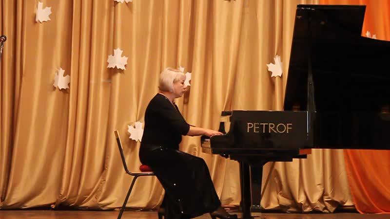С. Рахманинов «Прелюдия соль-диез минор» исполняет концертмейстер Колобова В.В.