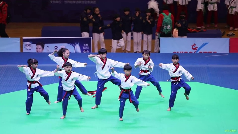 2017 China Open Taekwondo Dance Junior,9th,2017 中国跆拳道公开赛 跆舞少年组 9th 北京跆协