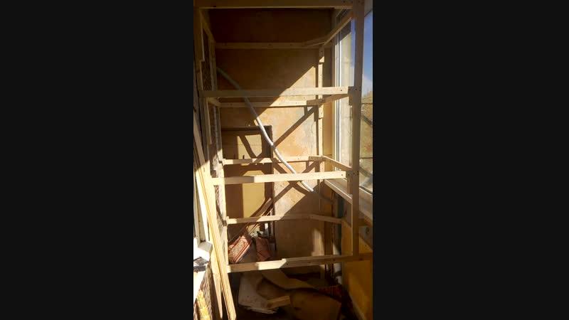балкон в сдадим ремонта