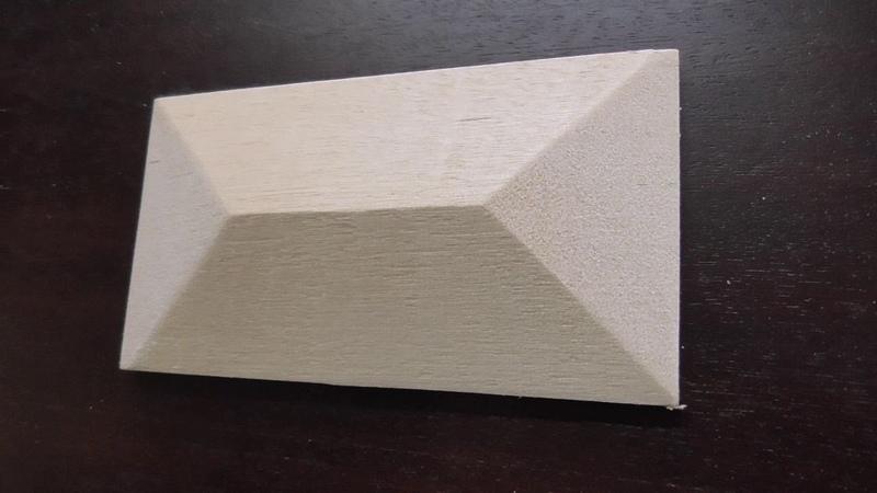 Декоративные элементы мебели, часть - 3. ПИРАМИДКИ - 2й Вариант.