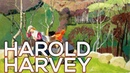 Harold Harvey A collection of 108 paintings HD