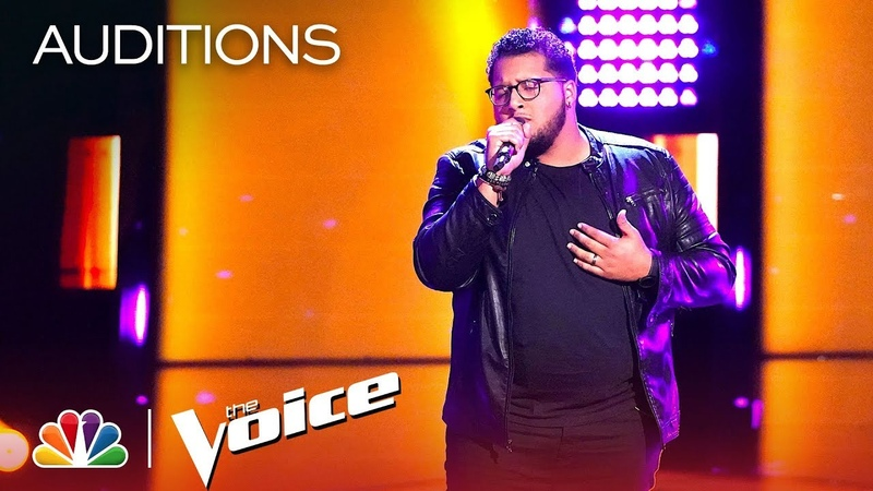 David Owens Performs Soulful I Can't Make You Love Me The Voice Blind Auditions 2019
