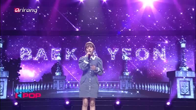 Baek A Yeon - Sorry To Myself @ Simply K-pop 181207