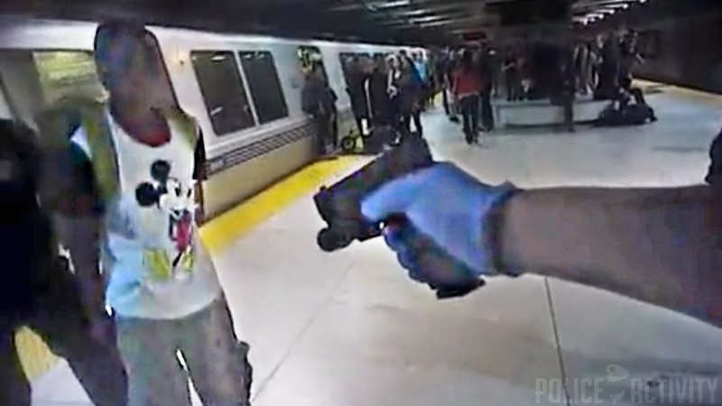 Police Body Cam Video Of San Francisco BART Station Arrest