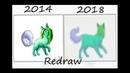 Redraw green cat 2014 - 2018