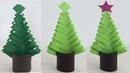 ARBOLITO NAVIDEÑO DE PAPEL PAPER CHRISTMAS TREE DECORACIONES NAVIDEÑAS CHRISTMAS DECORATIONS