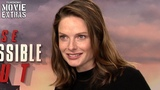 MISSION IMPOSSIBLE FALLOUT Rebecca Ferguson talks about her experience making the movie