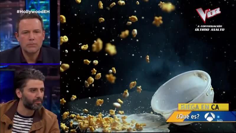 Ben Affleck y Oscar Isaac expertos en reconocer las explosiones al revés El Hormiguero 3 0