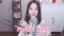Price Tag Chinese girl Feng Timo cover with Lyrics Subtitles