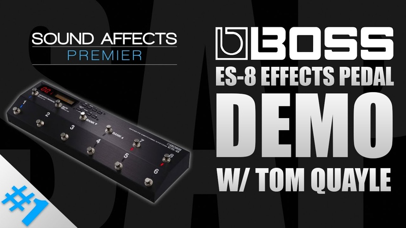 Boss ES-8 Effects Pedal Switching System GUIDE PT1