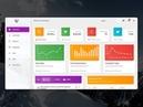 Creative-Tim Style Material Design Dashboard - C , - PROGRAMMING - Bunifu UI DataVIZ