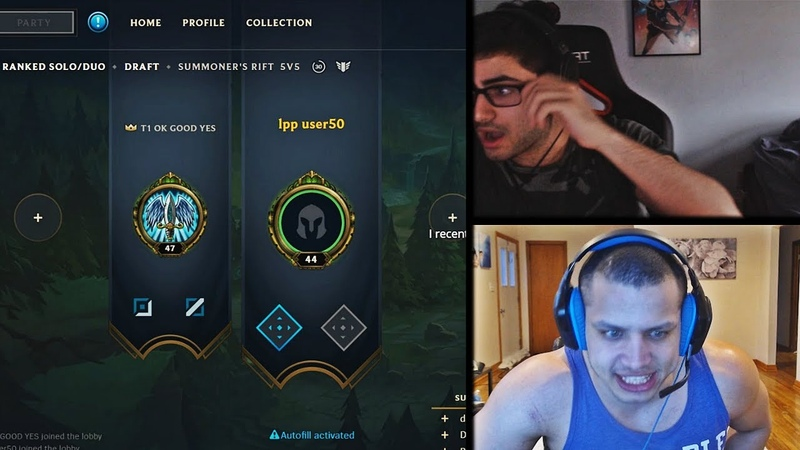 YASSUO SCARES THE SH*T OUT OF TYLER1 IN HIS LOBBY | TYLER1 NA DIVE | TRICK2G HITBOX | LOL MOMENTS