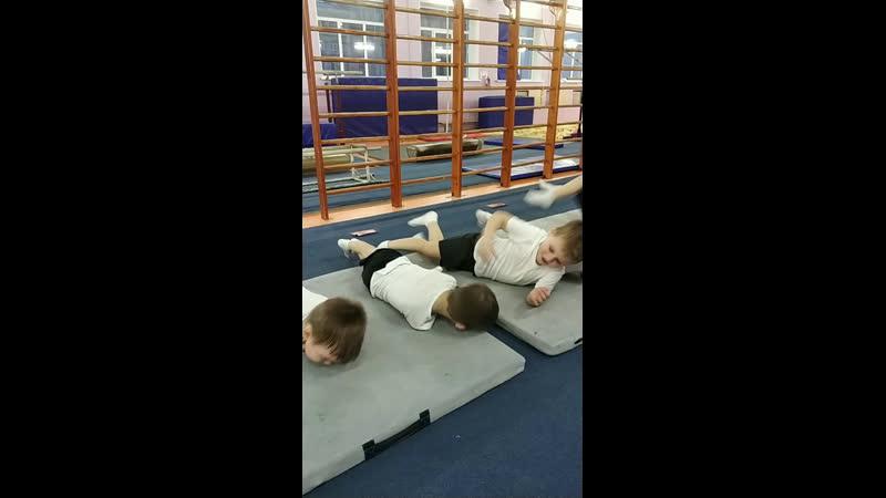 Live Спортивная гимнастика для детей в СПБ