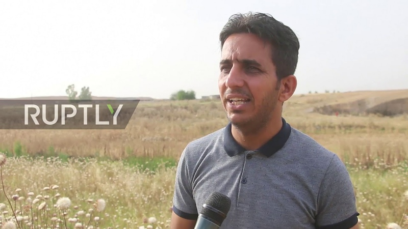 Iraq IS accused of burning crops near Mosul