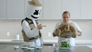 A Python A Tortoise Brian Barczyk Cook Blackened Tofu with Quinoa Cooking with Marshmello