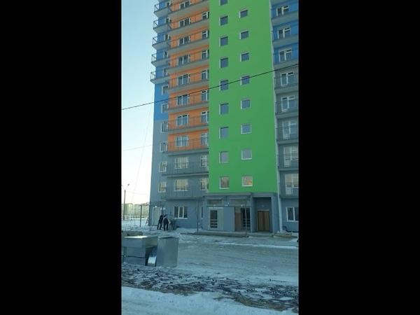 Солнечный Альфа дом №8 придомовая территория, проспект Молодёжный №19