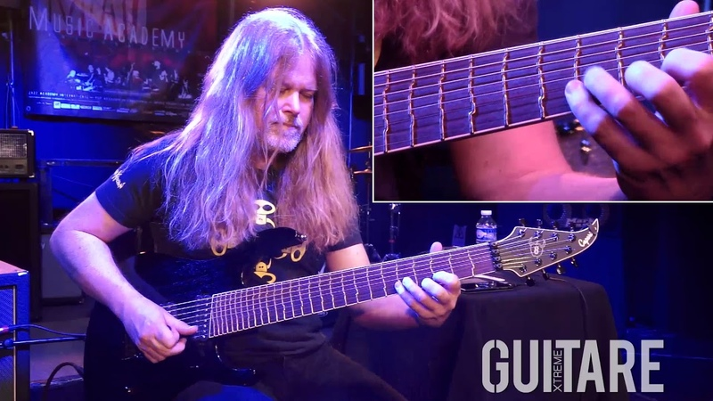 Guitare Xtreme Magazine 86 Mattias IA Eklundh Tapping harmonics dissonances
