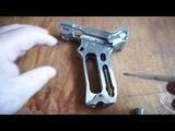 №9. Изготовление затвора зажигалки пистолета Парабеллум.