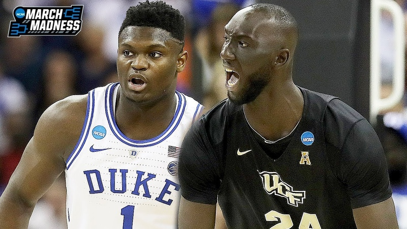 UCF vs Duke Game Highlights Zion Williamson vs Tacko Fall March 24 2019 2019 March Madness