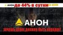 Высокодоходный проект с жесткими правилами До 44% чистой прибыли Anon