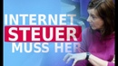 Bundestag will Internet Steuer - Katrin Göring Eckardt -x8L