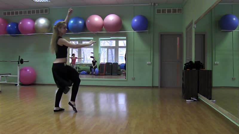 Танец живота, постановка для группы. Тренер Юлия Бугаевская