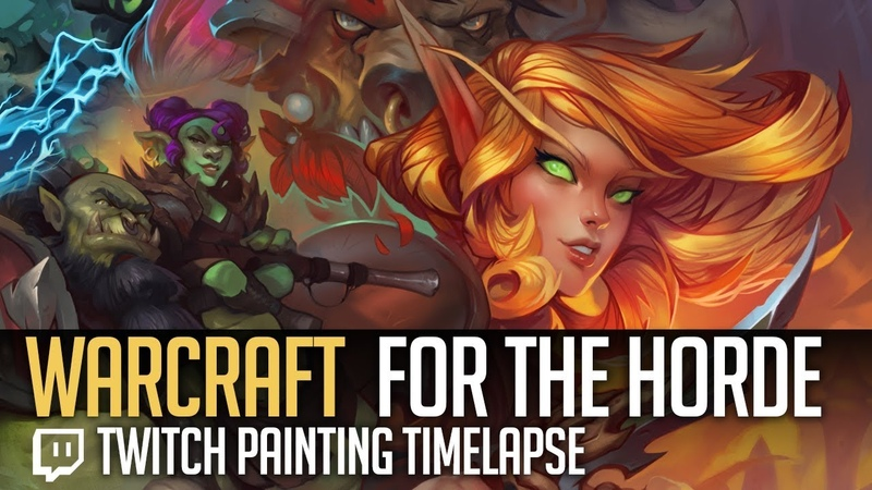Painting Timelapse - For The Horde