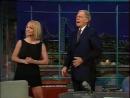 Britney Spears surprise appearance on David Letterman