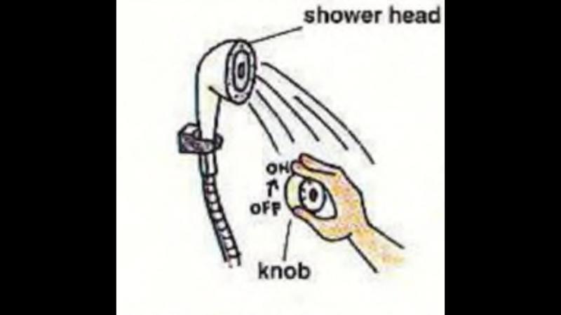 2.TESTSPEAK UPSection 1. Starting the Day_Chapter 3. Taking a ShowerTEST