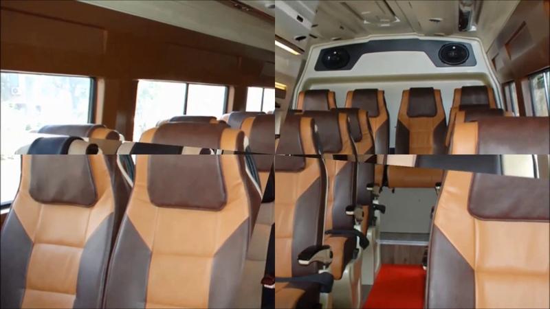 15, 16 Seater Tempo Traveller Hire in Delhi: Travel to India's Memorable Destination
