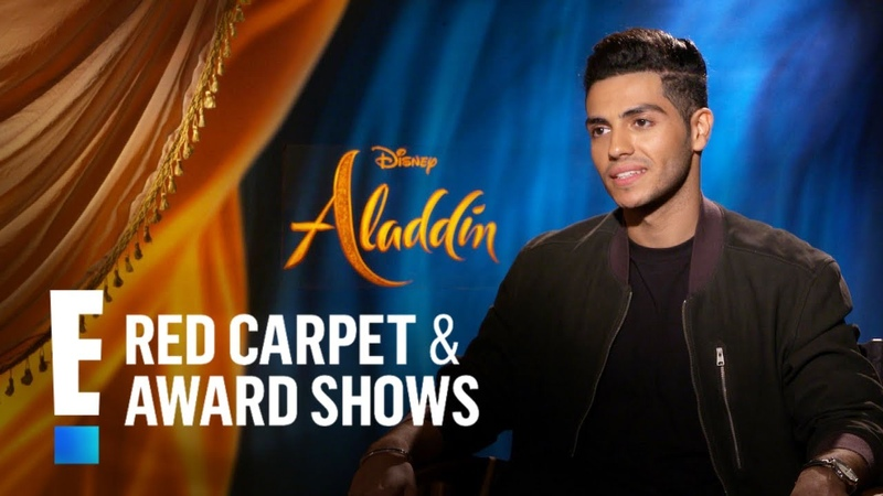 Mena Massoud Compares Iconic Aladdin Role to Batman | E! Red Carpet Award Shows