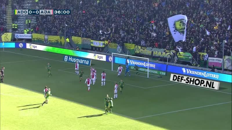 Highlights — ADO Den Haag - Ajax