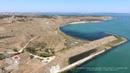 Аэросъемка Керченская крепость Крым Aerial view Fortress Kerch Crimea