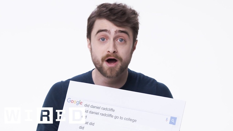 Daniel Radcliffe Answers the Web's Most Searched Questions WIRED