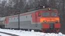 Самый старый электровоз ВЛ11М-001 с грузовым поездом, БМО ж/д