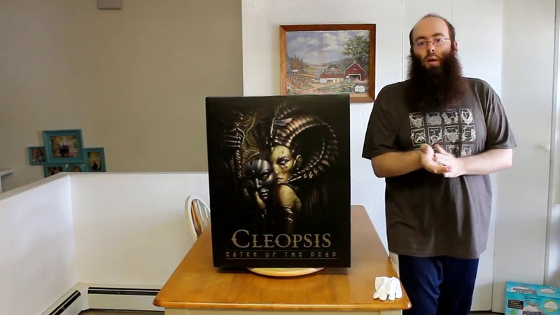Cleopsis Eater of the dead unboxing