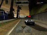NFS Hot Pursuit 2 (2002) - Police Ford Crown Victoria (Окраина острова, зеркало назад)