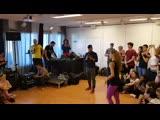 Carlos &amp Chloe - Bachata fusion @Crazy Lion bachakiz 2k19
