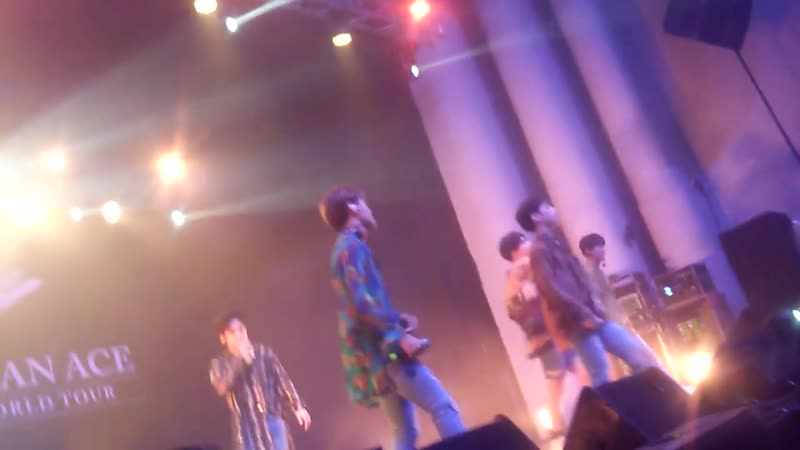 FANCAM 18 11 18 A C E LMLYD See You Again @ Fan con 'To Be An ACE' in Chile