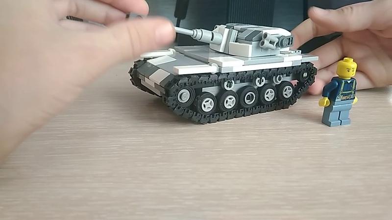 Новая самоделка: Французский лёгкий танк AMX elc bic.